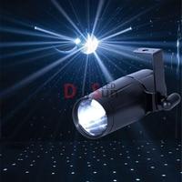 Free Shipping 1PCS DJ Light 3W LED Pinspot Lights Red Green Blue White LED Beam Spotlight