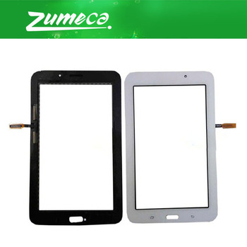 10PCS/Lot 7.0 Inch For Samsung Galaxy Tab 3 Lite 7.0 VE T114 Touch Screen Digitizer Touch Panel Lens Glass Black White Color
