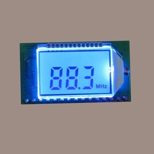 PLL Digital inalámbrico Micrófono estéreo FM módulo transmisor de Radio 87-108 MHZ dc 3-5 v