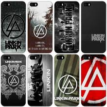 linkin park Black Plastic Case Cover Shell for iPhone Apple 4 4s 5 5s SE 5c 6 6s 7 Plus(China)