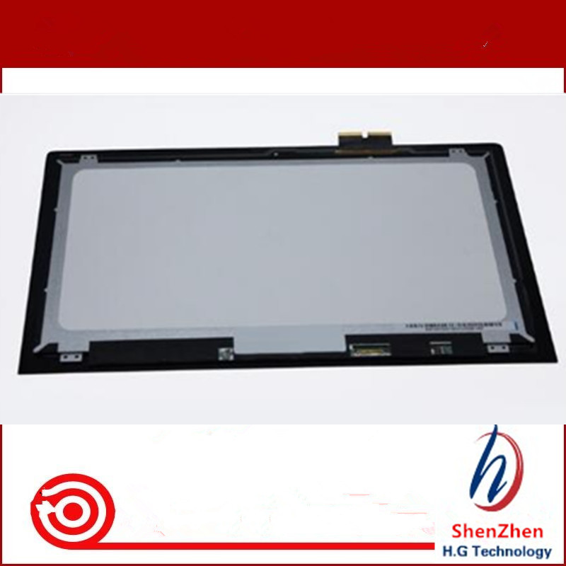 Original 100%test well 15.6 FHD IPS LCD Touch Screen Assembly For Lenovo IdeaPad Y700 15ISK Touch 80NV