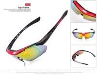wosawe & рег поляризовывая велоспорт солнцезащитные очки открытый спортивный велосипед очки вождение гонки очки 5 vaccine объективным