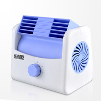 12V Mute Auto Fan Car leafless air conditioner fan easy cool purifies air cooling Fan Cooling temperature in the car DY390