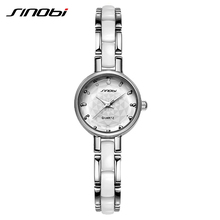 Sinobi женская мода часы люксовый бренд браслет ремешок кварцевые часы Высокое качество водонепроницаемый щепка женщина платье наручные часы сумки женские сумочки известных брендов Русский стиль недорогие женские часы