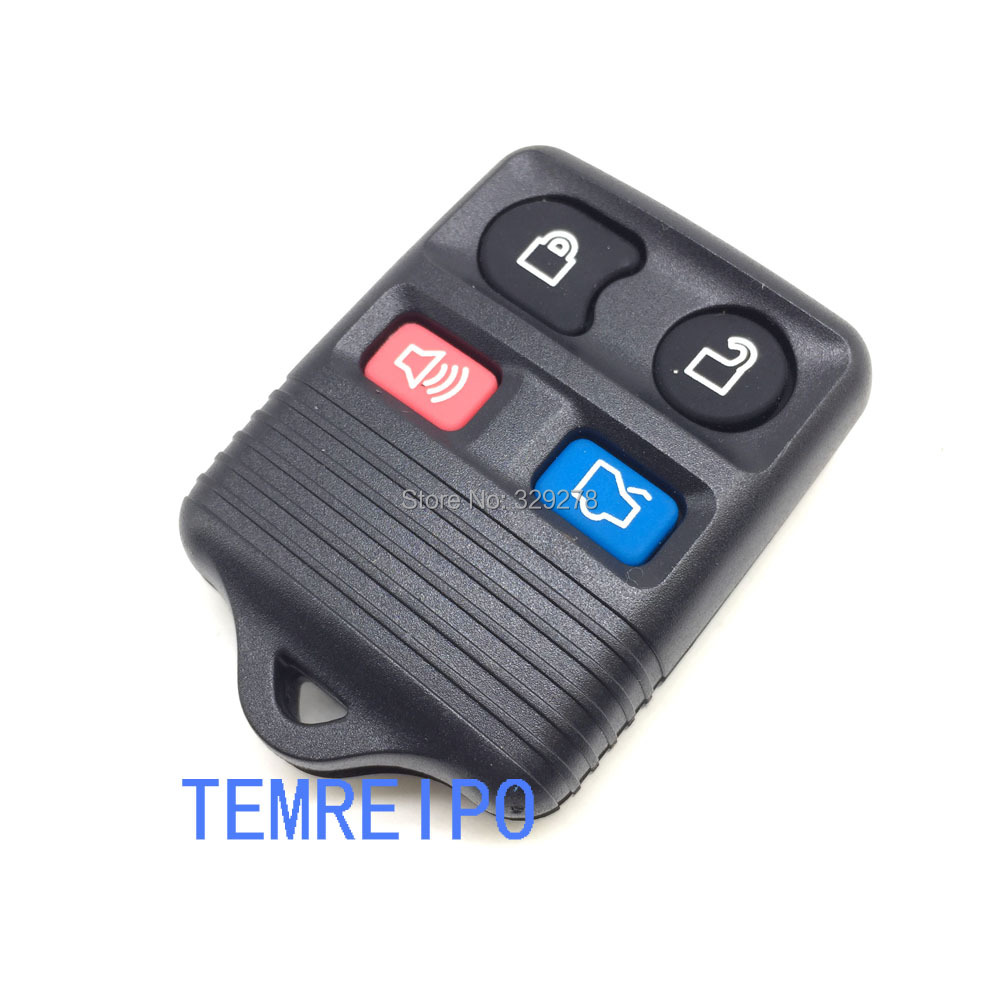 4 button key blank fob selling for american car remote control key cover case ford