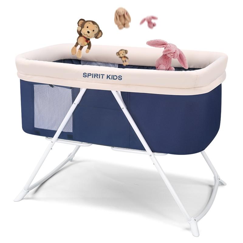 Babyfond lit bébé européen Installation gratuite multi-fonction nouveau-né berceau bébé lit pliant Portable berceau lit