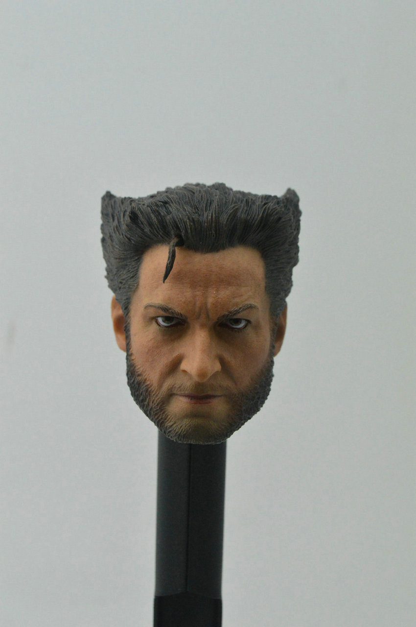 1//6 Wolverine 3 Flat Head Sculpt Carving Clone Version Model Action Figure