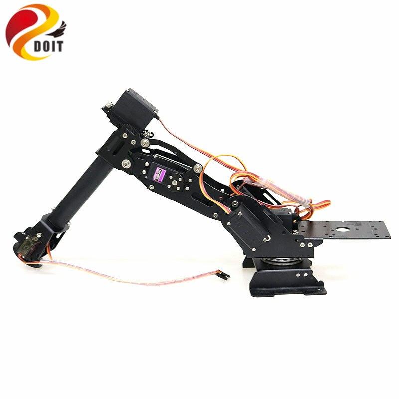 APPLICATION Open Source et PS2 Contrôle 7 Dof Bras Robotique Robot Modèle avec 5 pièces Engrenage En Métal Servos 360 Degrés Rotation Base