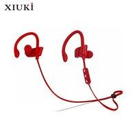 Hang oor bluetooth headset stereo muziek subwoofer, handig om rond en microfoon