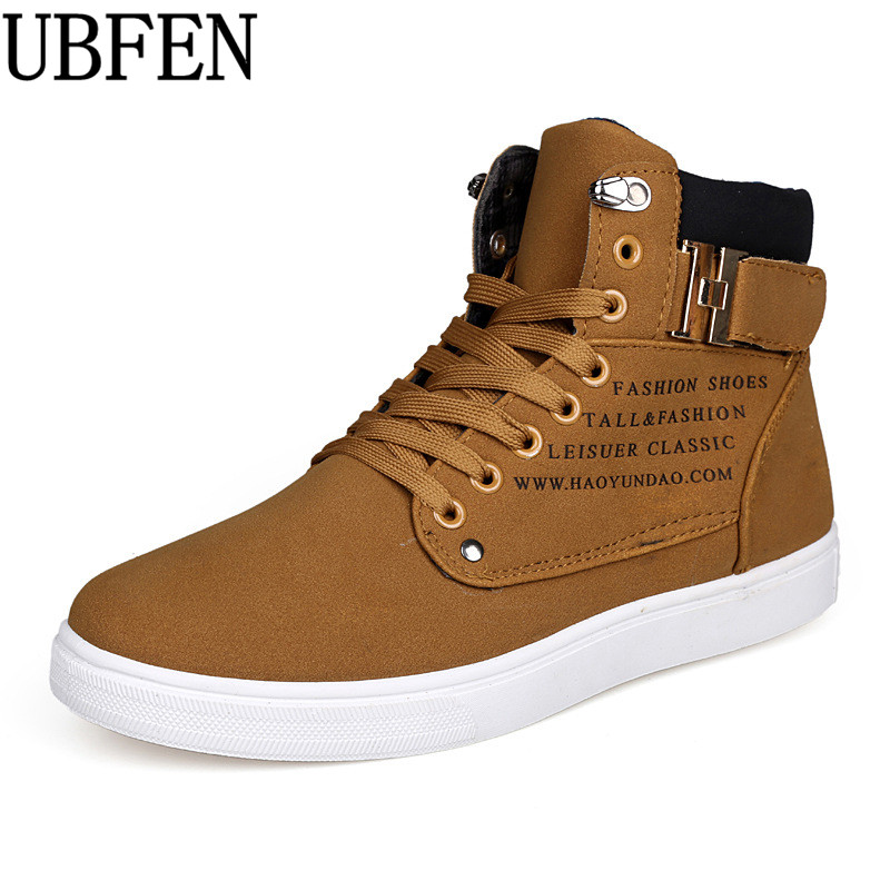 2017 Hot Men Casula Shoes Fashion Sping/Autumn Men Shoes Lace up Footwear For Man New High Top Canvas Shoes Male