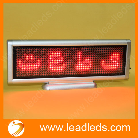 4sets/lot Red Desktop led display  led moving sign 12*48 Dots4sets/lot Red Desktop led display  led moving sign 12*48 Dots