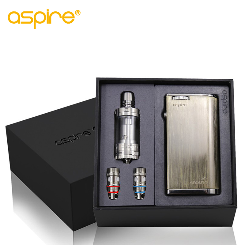 Electronic Cigarette Kit Aspire Odyssey Kit Upgraded With Aspire Pegasus Mod 75W and Triton 2 Tank  (1)