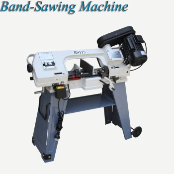 Band Saw Machine Metal Sawing Machine Multifunctional Woodworking Electric Desktop Horizontal Vertical Band Sawing Machine BS115 cutting woodworking multifunctional chainsaw logging saw electric sawing machine rechargeable electric chain saw 4556