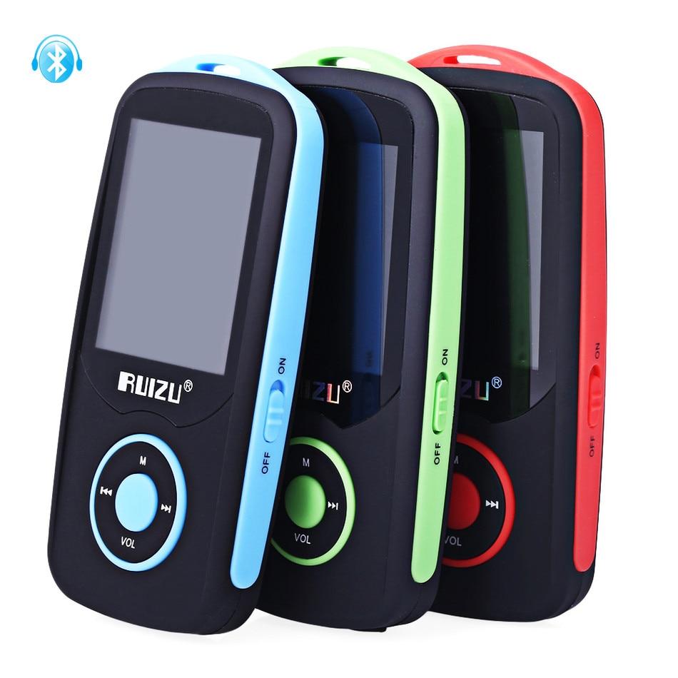 Ruizu X06 Bluetooth Mp3 1,8-zoll Tft Lcd Bildschirm Sport Musik-player Fm Radio Verlustfreie Hochwertige Recorder Walkman Tragbares Audio & Video