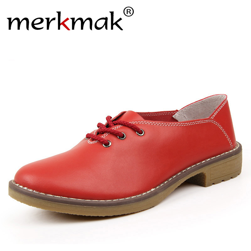 New 2017 fashion women shoes genuine leather oxford shoes for women flats moccasins sapatos femininos sapatilhas