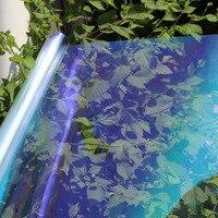 Chameleon Car Front Side Window Solar Film Tint VLT67% Protective Car Resistant Membrane Car Accessories 60x16ft/1.52x5m
