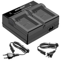 Neewer LED Dual Channel Digital Battery Charger For Sony NP FW50 Battery NEX 5 NEX 6
