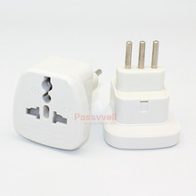 10 pcs/lot Italy conversion plug , Milan , Rome , multi-function converter socket 10A 250V copper adapter