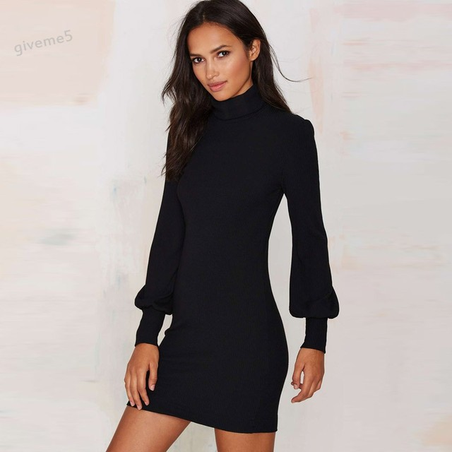 Slim Mini Dress