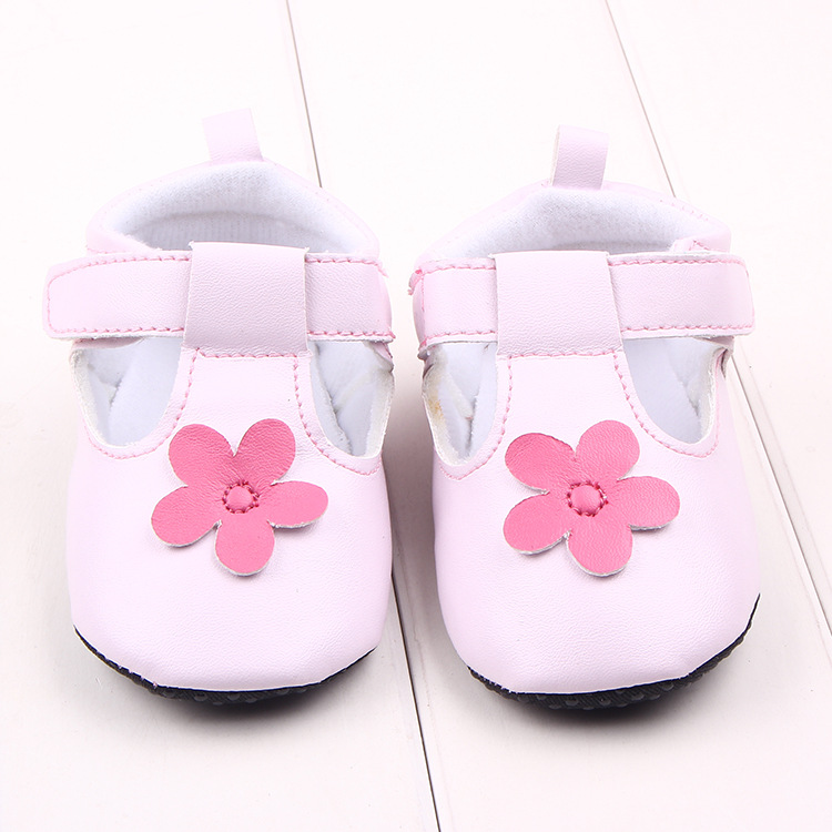Infant Toddler Princess Shoes First Walkers Newborn Baby Girls Flower Kids Prewalker Soft Soled Sneakers bebe Sapatos