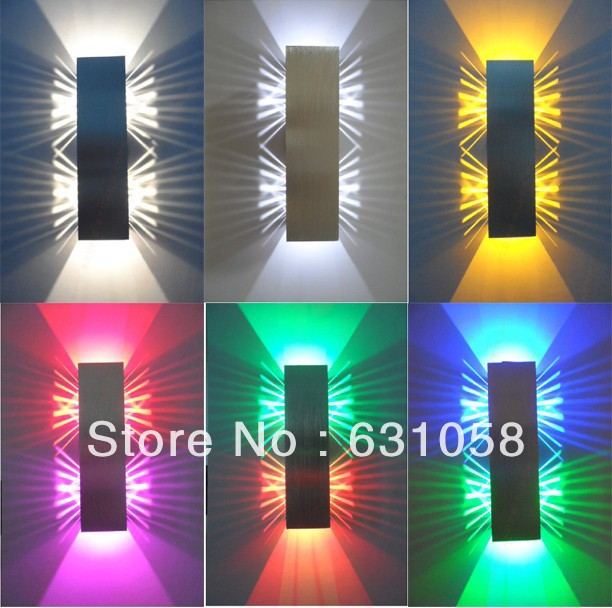 ФОТО Free shipping 2*1W led wall lamp high power led,modern minimalist bedroom living room decorative lighting 100-240v energy saving