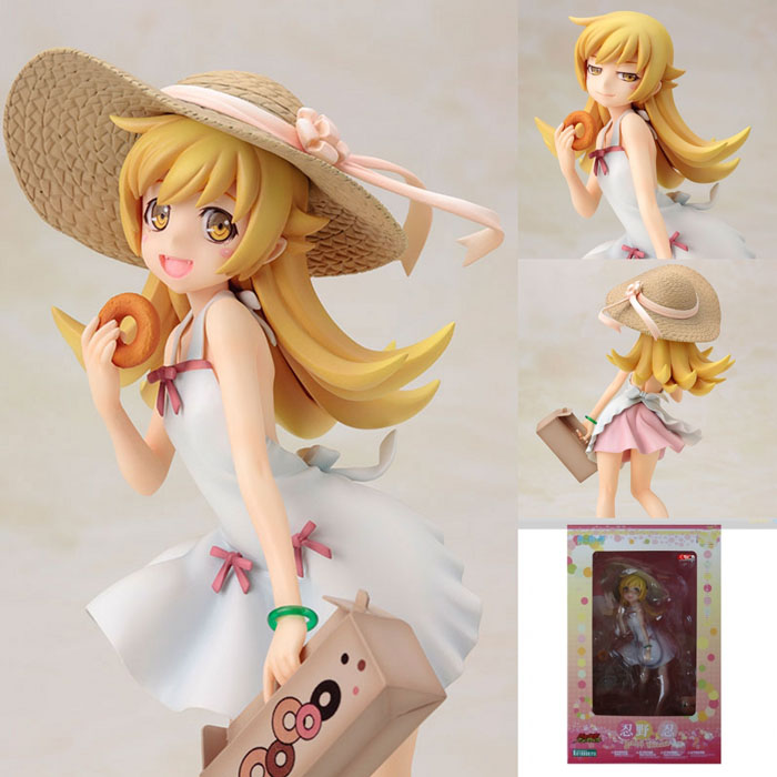 Anime Monogatari Nisemonogatari Oshino Shinobu 1/8 Scale Painted Figure Collection Model Toy oshino shinobu anime bakemonogatari 19cm 7 pvc figure new in box