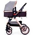 Бесплатно, модная детская коляска, на четыре сезона, можно лечь, складывается двумя способами, четыре колеса, амортизаторы, толкается руками, для перевозки ребенка