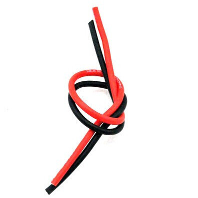 1meter Red+1meter Black 10# 10 AWG 10AWG Heatproof Soft Silicone Silica Gel Wire Connect Cable For RC Model Battery Spare Part 1meter red black blue12 10 12awg 10awg heatproof soft silicone silica gel wire connect cable for rc model battery part
