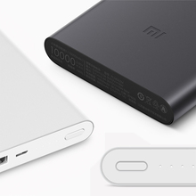 10000mAh Xiaomi Mi Power Bank 2 Quick Charge External Battery Supports 18W Fast Charging For Android IOS Mobile Phones