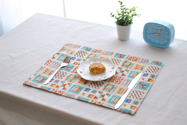 [RainLoong] Cartoon European Cotton Table Mat Pad Thermal Insulation For Restaurant Dinn ...
