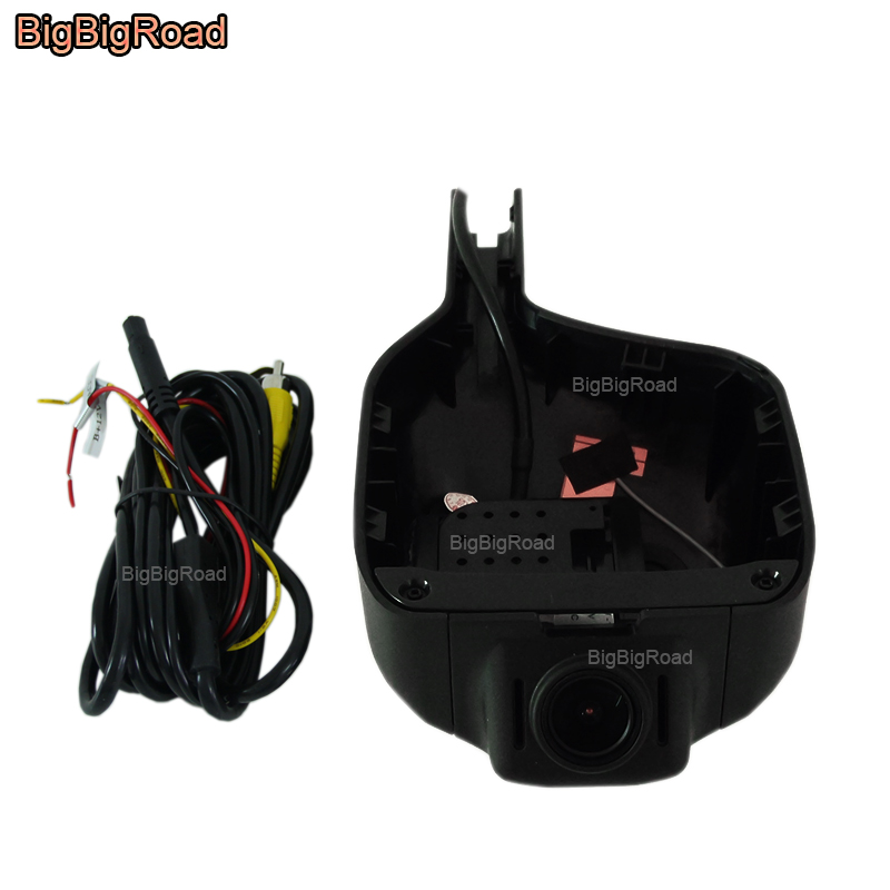 BigBigRoad For Great Wall Haval h6 / h6 coupe 2014 2015 2016 2017 Car wifi DVR Video Recorder Dash Cam Camera black box