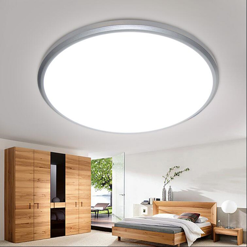 Modern ceiling light round colorful LED indoor lamp kitchen bedroom Waterproof dustproof lighting decorate Light Fixture AC220V
