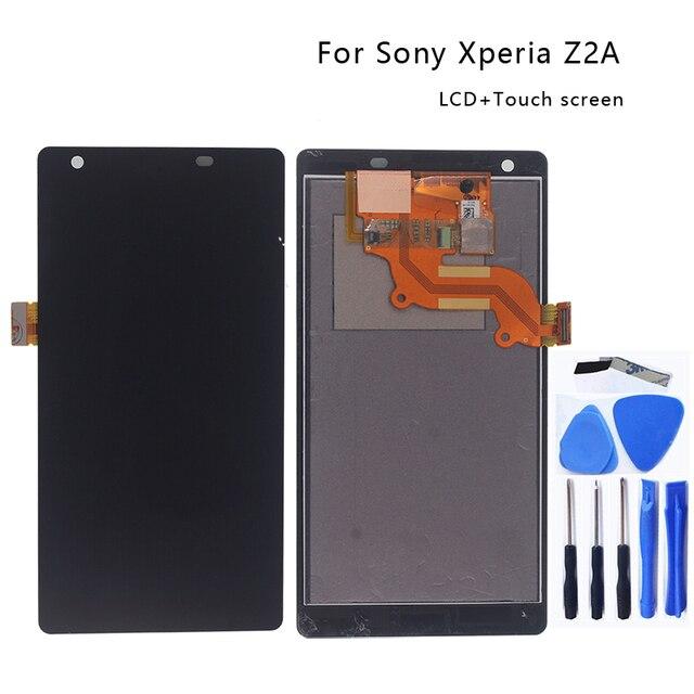 """5.5 """"لسوني اريكسون Z2A ZL2 شاشة الكريستال السائل محول الأرقام بشاشة تعمل بلمس عدة لسوني اريكسون Z2 A ZL 2 شاشة الكريستال السائل اكسسوارات أجزاء الهاتف"""