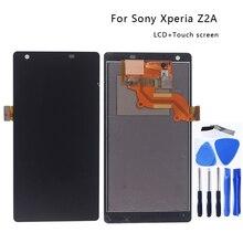 """5.5 """"dla Sony Xperia Z2A ZL2 wyświetlacz LCD ekran dotykowy Digitizer zestaw do Sony Xperia Z2 A ZL 2 wyświetlacz LCD akcesoria części do telefonu"""