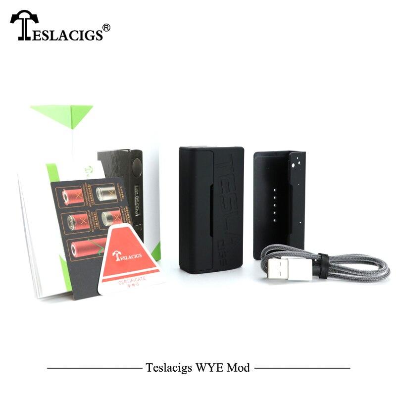 Plus léger Électronique Cigarettes Mod Teslacigs Tesla WYE 85 W Mod Teslacigs WYE 85 W boîte de contrôle de température Mod 510 Fil Vaporisateur - 2