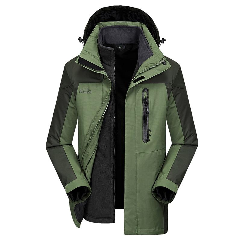 Waterproof Softshell Jacket Men Fishing Climbing Windproof Rain Coat Fleece Trekking Ski Hiking Windproof Jackets stylish fleece windproof hat black
