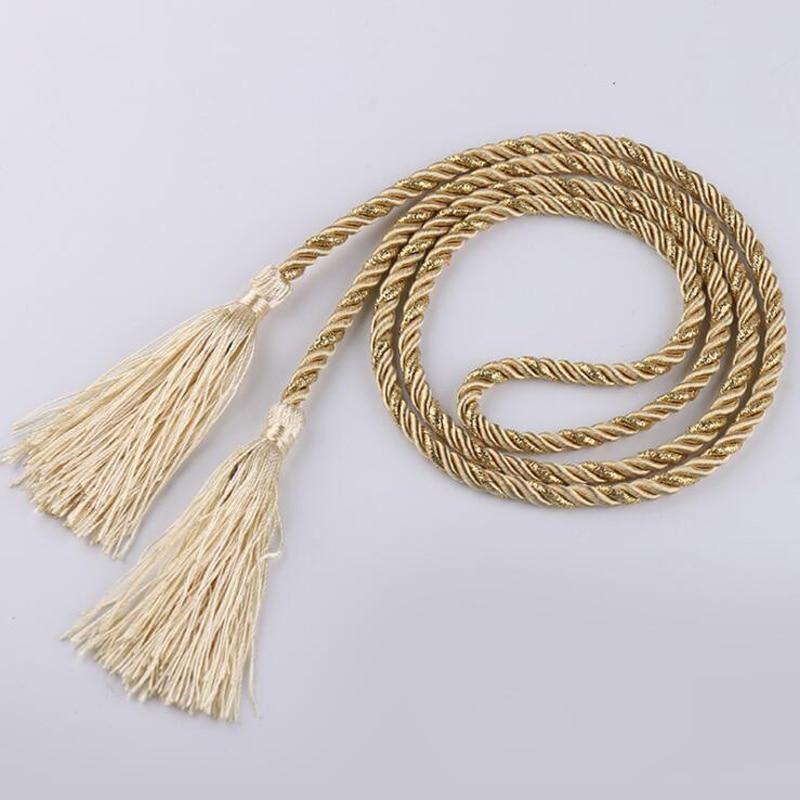 Curtain Tassel Accessories Curtain Rope Decorative Straps Tassel Pendant 12 Colors