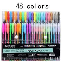 Ручка для рисования jonvon satone 48 цветов канцелярские принадлежности