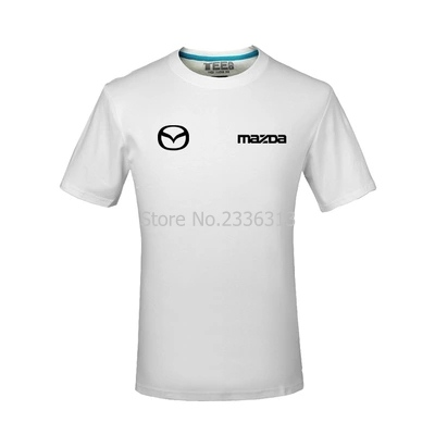 Men And Women Tooling 4s Shop Uniforms Short-sleeved Mazda T-shirt Custom Cotton Car Standard T Shirt Tops & Tees Back To Search Resultsmen's Clothing
