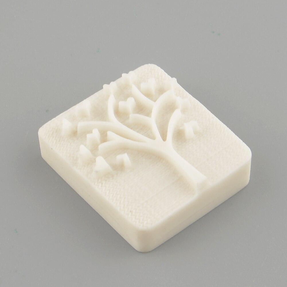 Сердце Любовь Дерево ручной работы желтое резиновое фальшивое мыло штамп для мыла плесень Ремесло Подарок