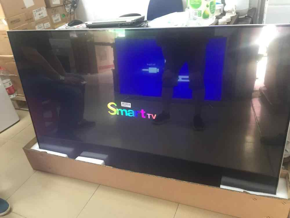 Android OS quard core 65 inch led tv 4k smart led television TV