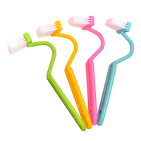 S-Shaped Toliet Brush Cleaning Side Curved Clean Households Closestool Hand Tool Store 243