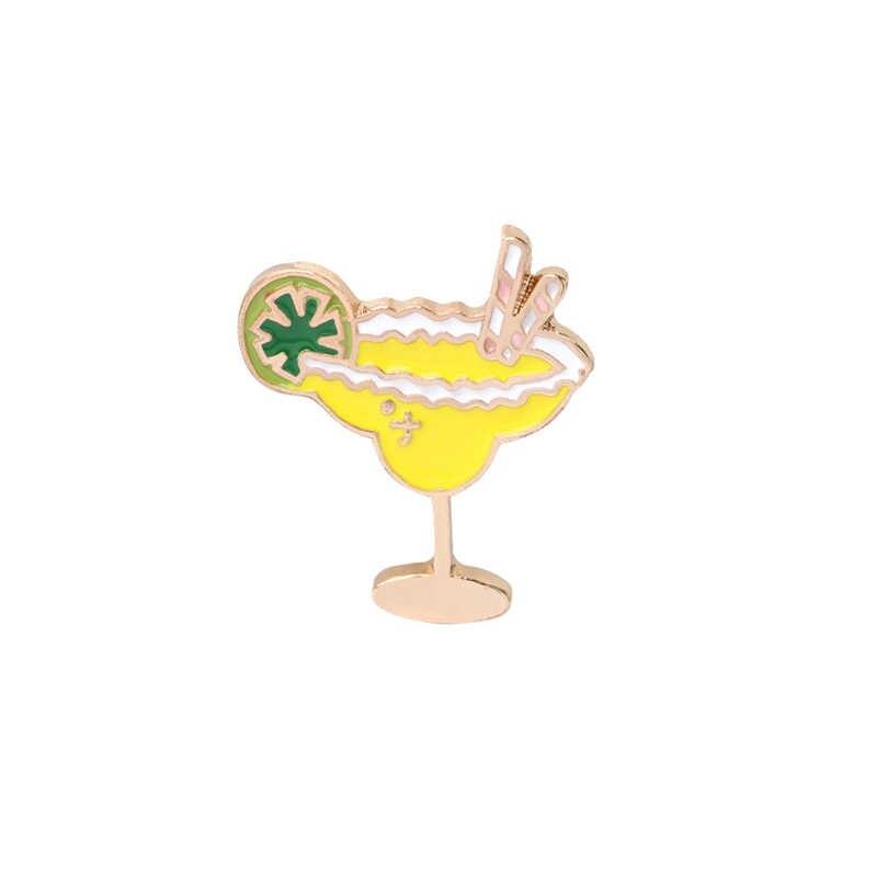 Pohon Kelapa Kacamata Hitam Merah Muda Flamingo Jus Lemon Es Krim Olahraga Gadis Bros Kemeja Denim Tombol Pins Pantai Bros Gaya