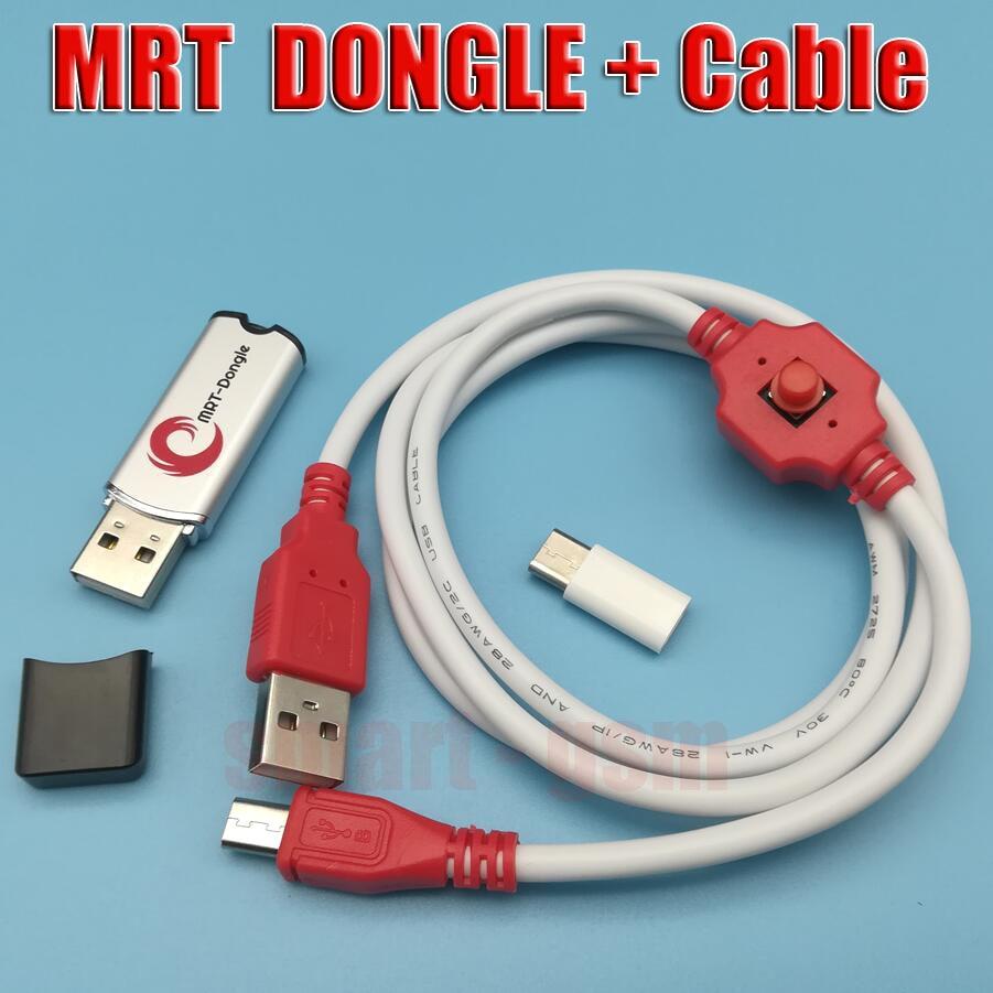 DONGLE MRT Original et câble de déverrouillage BL pour déverrouiller le compte Flyme ou supprimer le mot de passe support pour Mx4pro/mx5/note/note