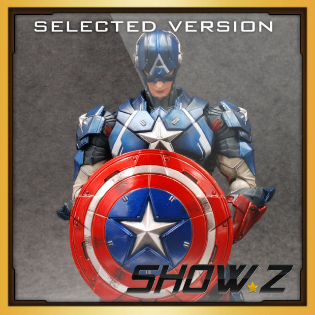 [Selected][SAMPLES!] Square Enix Play Arts Kai 10'' Captain America  painted action figure