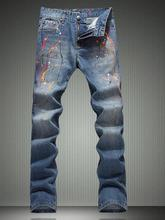 Hot sell England classic color ink thin pants cotton fashion true jeans men famous brand mens