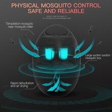 Garden Supplies Pest Control Mosquito Killer Lamp Led Killer Moth Purple Light LED Bug Zapper Fly Lamp Trap Wasp Pest Wind Power
