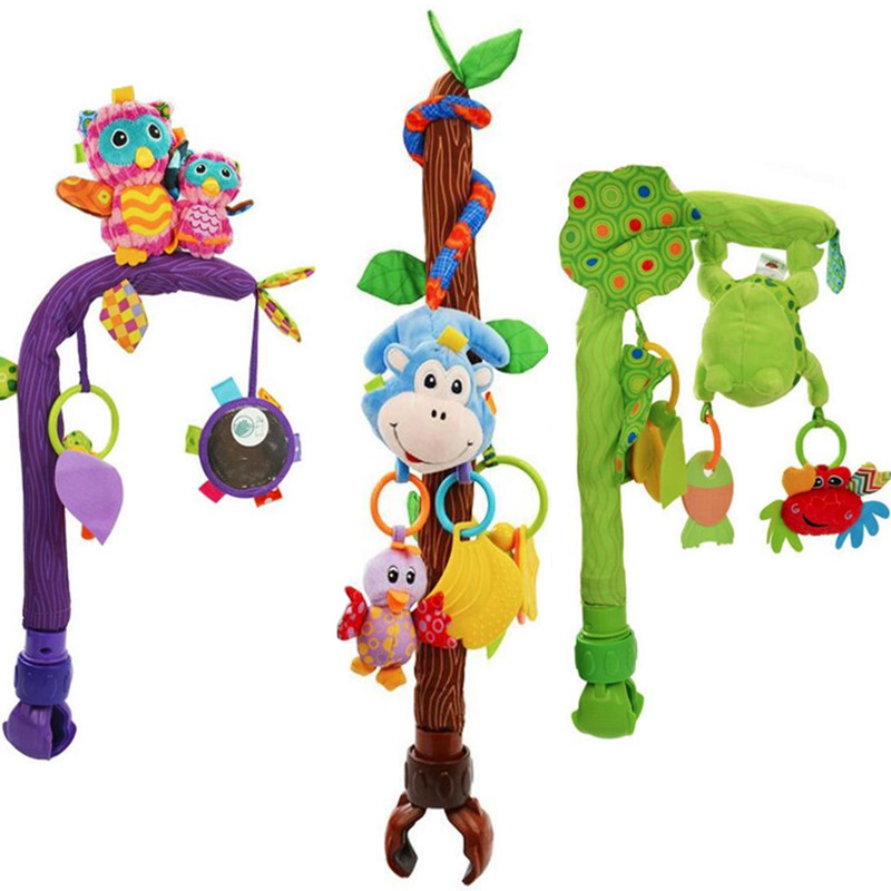 Multifunction baby play stroller Bendable Flexible car bed clip plush lathe hang hanging Seat animal owl monkey rattle Toys 28%Multifunction baby play stroller Bendable Flexible car bed clip plush lathe hang hanging Seat animal owl monkey rattle Toys 28%