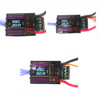 EMAX 20A 25A 30A brushless ESC SUPER BEC OUTPUT 2A/5V RC Speed Contorller Brudhless Motor RC Airplane Helicopter
