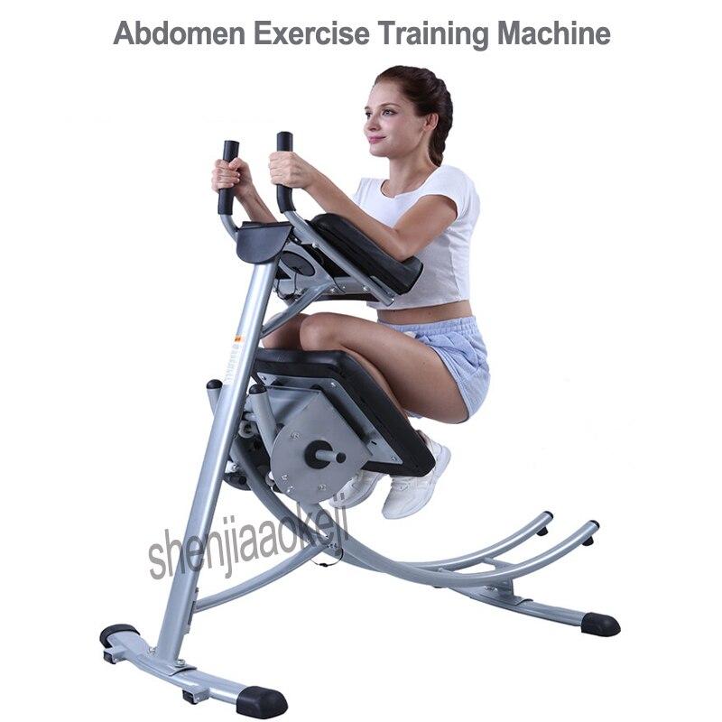 Machine d'entraînement verticale d'abdomen de montagnes russes d'ab équipement de forme physique d'exercice taille mince taille mince de ventre machines de Sport 1 pc